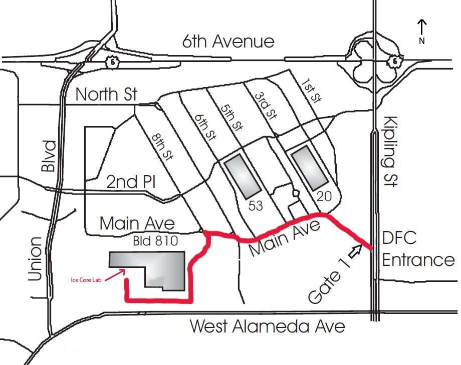 Map To National Ice Tour Ibm Boulder Campus Kathryn Pirie